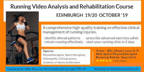 Running Video Analysis and Rehabilitation Course tickets
