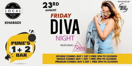 Friday Diva Night - Dj Shreya