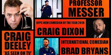 Stand-up comedy live with Mr Badger and guests! tickets