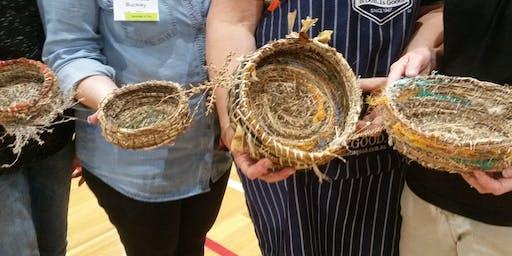 Bush Basket Making Workshop in Mingenew