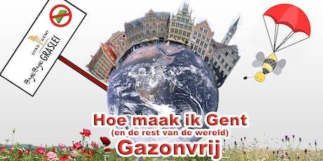 Hoe maak ik Gent (en de rest van de wereld) Gazon-vrij? billets