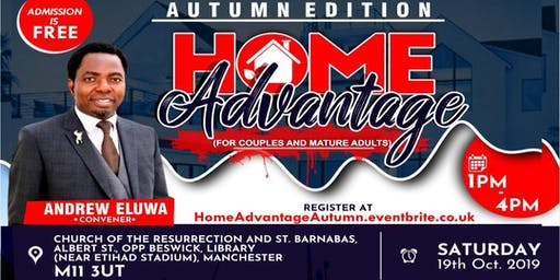 Home Advantage Autumn Edition