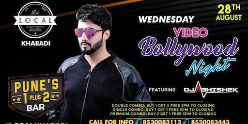 Wednesday Video Bollywood Night - Dj Abhishek