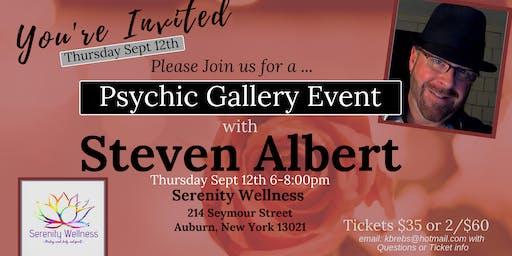 Steven Albert: Psychic Medium Gallery Event- 9/12 Serenity