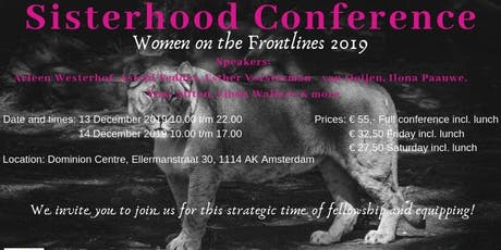 WOFL Sisterhood Conference 13-15 DEC. 2019 in Amsterdam-Duivendrecht! tickets