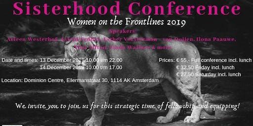 WOFL Sisterhood Conference 13-15 DEC. 2019 in Amsterdam-Duivendrecht!