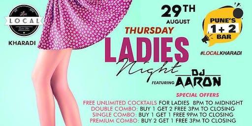 Thursday Ladies Night - Dj Aaron