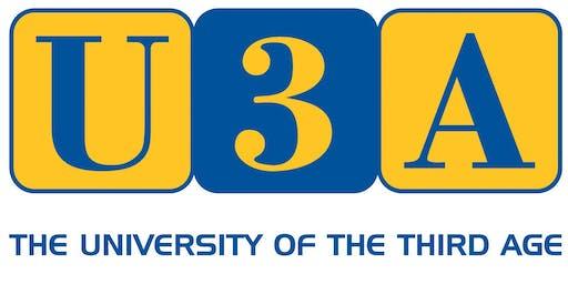 U3A Robot Challenge Event Day