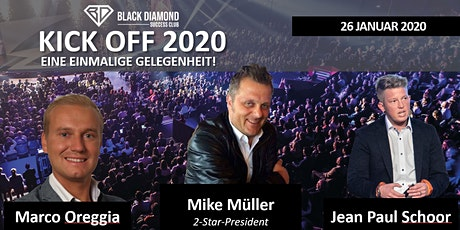 Black Diamond KickOff 26.01.2020 Tickets