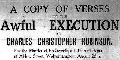Wolverhampton Guided Walk - A Tale of Two Murders -November