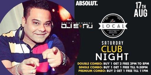 Saturday Club Night - Dj Sonu