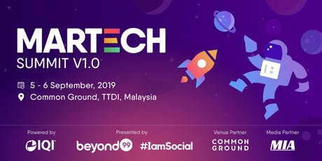 MarTech Summit 2019 (Digital Marketing & Technology Conference & Workshop) tickets