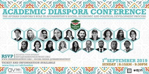 The Academic Diaspora Conference - Afghanistan by The Farkhunda Trust
