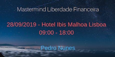 Mastermind Liberdade Financeira bilhetes