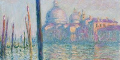 Paint Monet! + Pasta!
