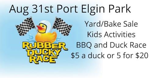 Port Elgin Community Hall 1st Annual Duck Race Day