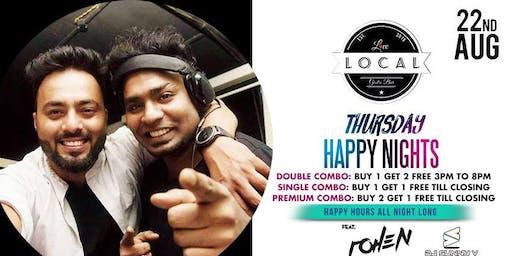 Thursday Happy Night - Dj Rohen & Dj Sunny