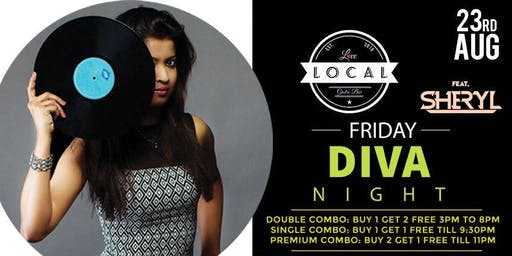 Friday Diva Night - Dj Sheryl