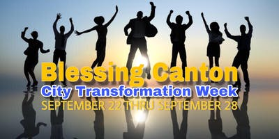 Blessing Canton City Transformation Week
