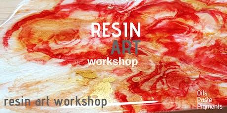 Resin Art Workshop biglietti
