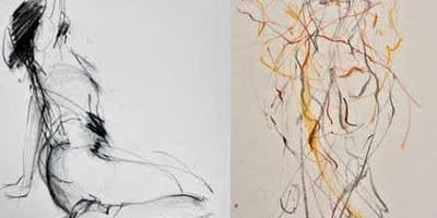 Experimental life drawing workshops with Suzy Robson