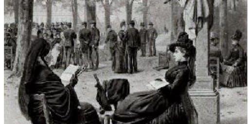 Dead Man's Party in Victorian Garden Cemeteries