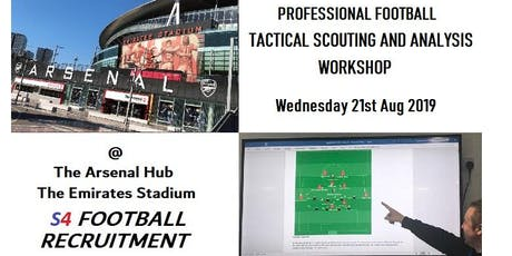 PROFESSIONAL FOOTBALL SCOUTING AND ANALYSIS WORKSHOP tickets