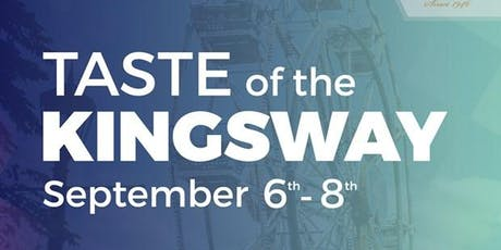 Taste of the Kingsway 2019 tickets