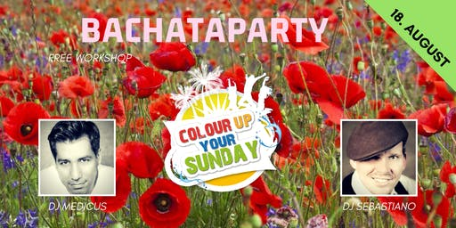 Colour Up your Sunday Bachataparty - Flower Edition