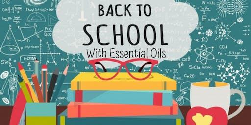 Essential Oils 101 - Back to School Essentials