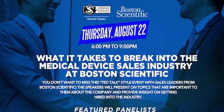 What It Takes To Break Into The Medical Device Sales Industry At Boston Scientific tickets