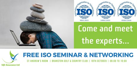 FREE ISO Management System Seminar & Networking Event tickets