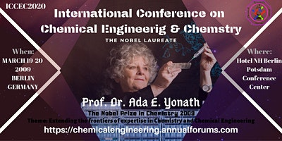 International Conference on Chemical Engineering &