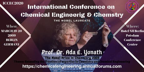 International Conference on Chemical Engineering & Chemistry Tickets