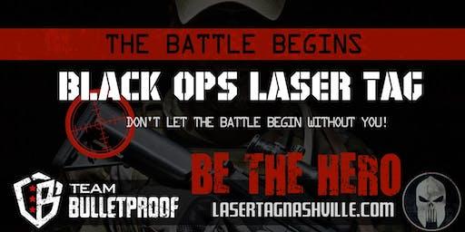 Bulletproof Black Ops: Epic Adult Tactical Laser Tag Battles!