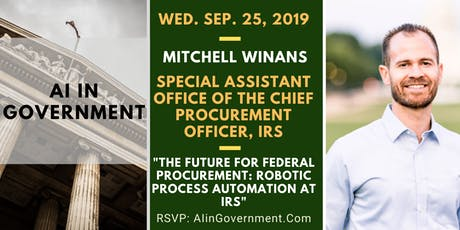 AI in Government - Mitchell Winans, IRS tickets