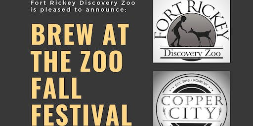 FORT RICKEY DISCOVERY ZOO PRESENTS: BREW AT THE ZOO FALL FESTIVAL