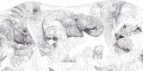 ELEPHANTS & OTHER AFRICAN WILDLIFE BIRO DRAWING WORKSHOP tickets