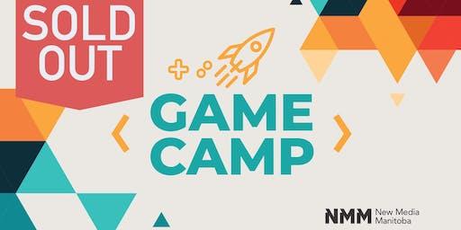 New Media Manitoba Game Camp 2019