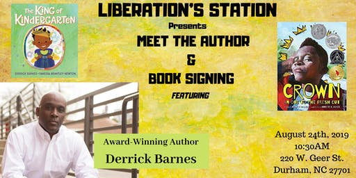 Meet the Author & Book Signing  w/ Award -Winning and pop-up