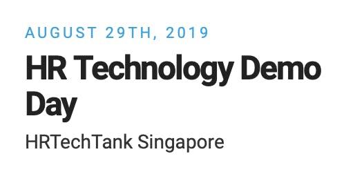 HRTechTank Singapore 2019