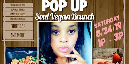 Pop Up Soul Food Vegan Brunch with Chef Nowel