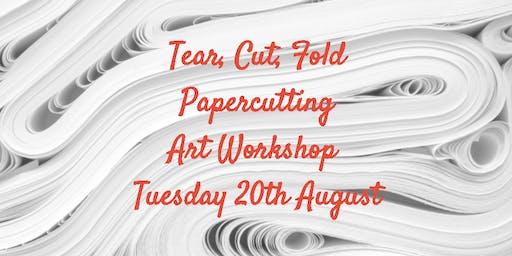 Tear, Cut, Fold - Papercutting Workshop