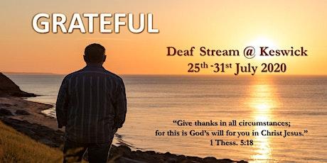 Deaf Stream @ Keswick tickets