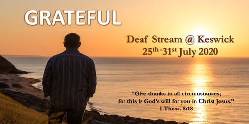 Deaf Stream @ Keswick with Convention 2020