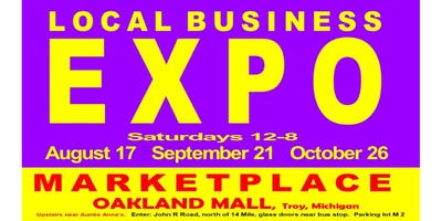 Local Business EXPO: Exhibit your business at Oakland Mall: Aug 17, Sept 21, Oct 26  (Theresa)