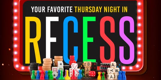 Recess • Adult Game Night