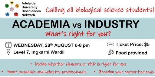 Academia vs Industry - what's right for you?