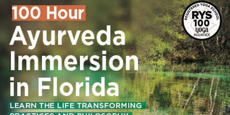 100 Hour Ayurveda Immersion in Florida tickets