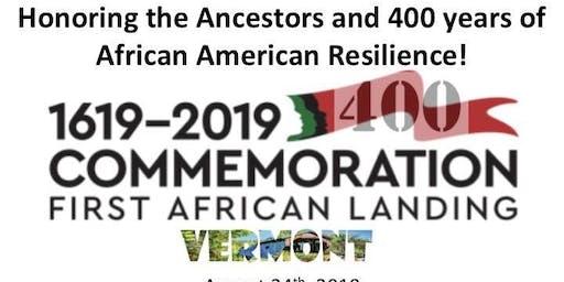 First African Landing Vermont